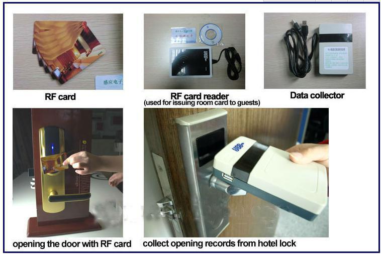 hotel lock system, smart lock, electronic lock for hotel door