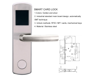 Software manageable system electronic door lock system for hotels PY