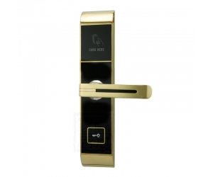 Star Rated  Korean design stylish RF key card door lock PY-8393