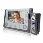 China Handsfree 7inch Video Door Phone System with Unlock and Monitor Function   PY-V801M13 factory
